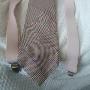Ralph Lauren Polo silk tie & suspenders $63 +Gift